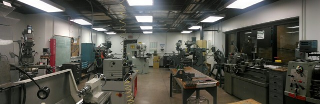 ASU basement machine shop and birth place of MarsTrac